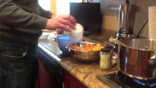 Butternut Soup With Cinnamon Cream