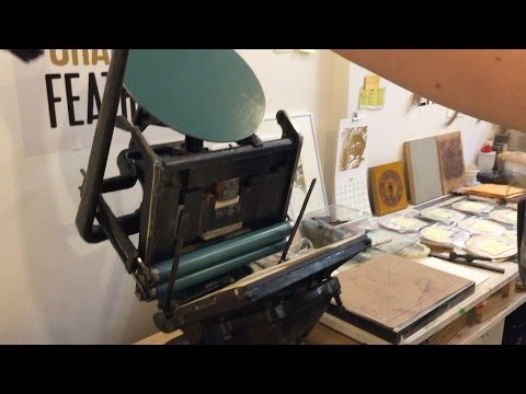 atplay.io -- How to: Use a vintage letterpress