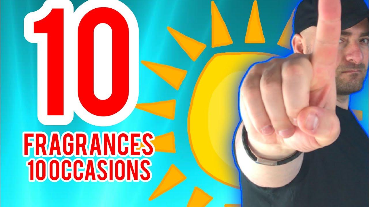 10 Men's Summer Fragrances for 10 Occasions | Fragrance Review