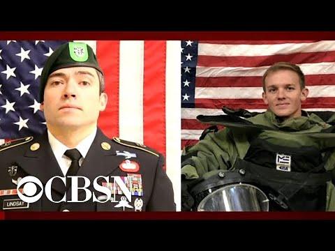 Pentagon identifies soldiers killed in Afghanistan