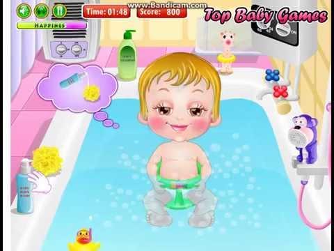 Бесплатные игры онлайн  Baby Hazel Gingerbread House Games  Малышка Хейзел Пряничный домик, игра для