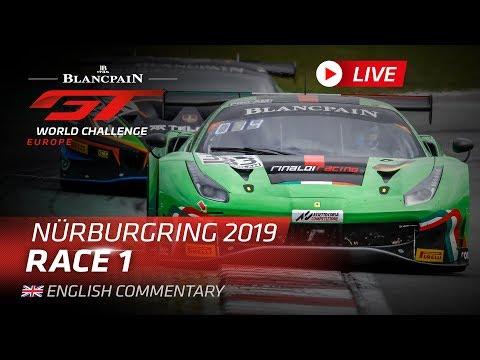 RACE 1 - NURBURGRING - BLANCPAIN GT WORLD CHALLENGE EUROPE 2019 - ENGLISH
