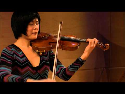 Jennifer Koh - Bach's Partita No 2 in D minor - WQXR's Bach Lounge Live