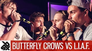 BUTTERFLY CROWS vs L.I.A.F.  |  WBC Tag Team Battle  |  Top 8