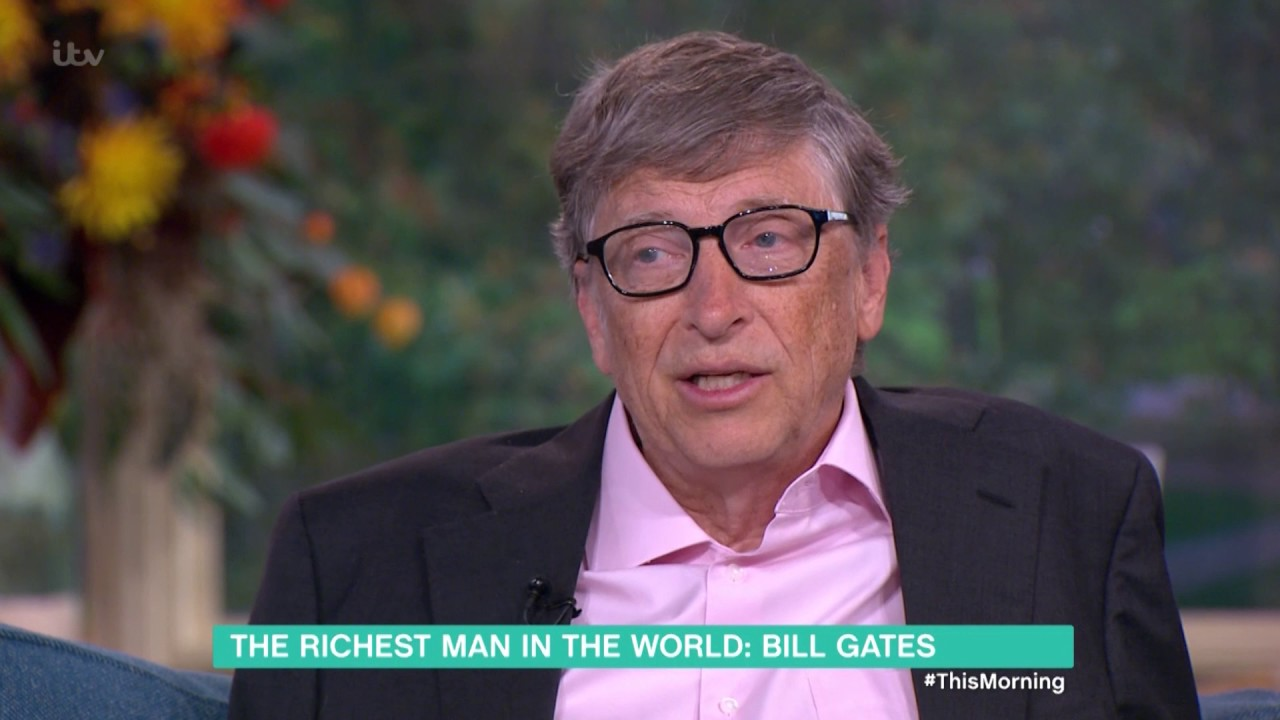 Bill Gates Talks His Charitable Foundation | This Morning