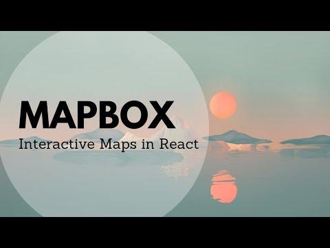Mapbox GL JS | JavaScript library that uses WebGL to render