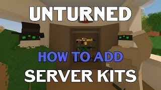 Unturned Tutorial | How to make kits + permission [OUTDATED}