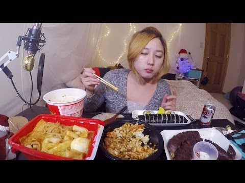 Korean Street Food  | MUKBANG