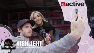 Chris Roberts gets Autographs and selfies - Go Skate Day 2019 at Active