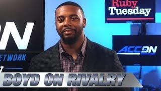 Tajh Boyd Talks Gamecocks Rivalry