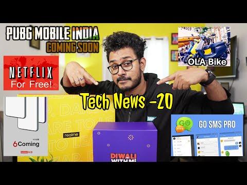 Tech ನ್ಯೂಸ್: Free Netflix, PUBG India, Ola Bike, OnePlus Charging Station, Lenovo New Phone Series