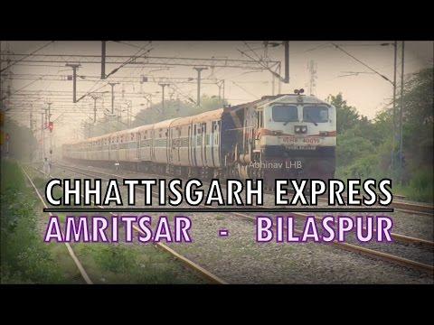 18238 Amritsar - Bilaspur CHHATTISGARH EXPRESS with TKD