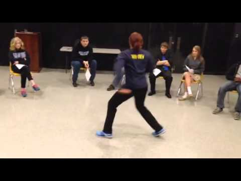 Dance audition 2015 Dallas christian school