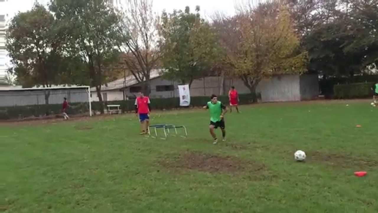 Circuito Fisico Tecnico Futbol : Fútbol circuito físico técnico youtube