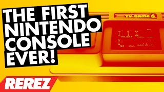 First Nintendo Console Ever Made! - Color TV-Game 6 - Rare Obscure or Retro - Rerez