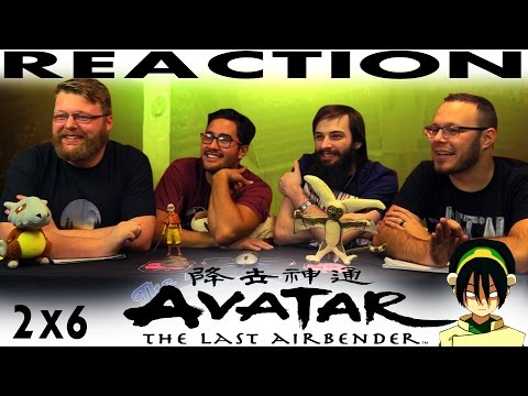 """Avatar: The Last Airbender 2x6 REACTION!! """"The Blind Bandit"""""""