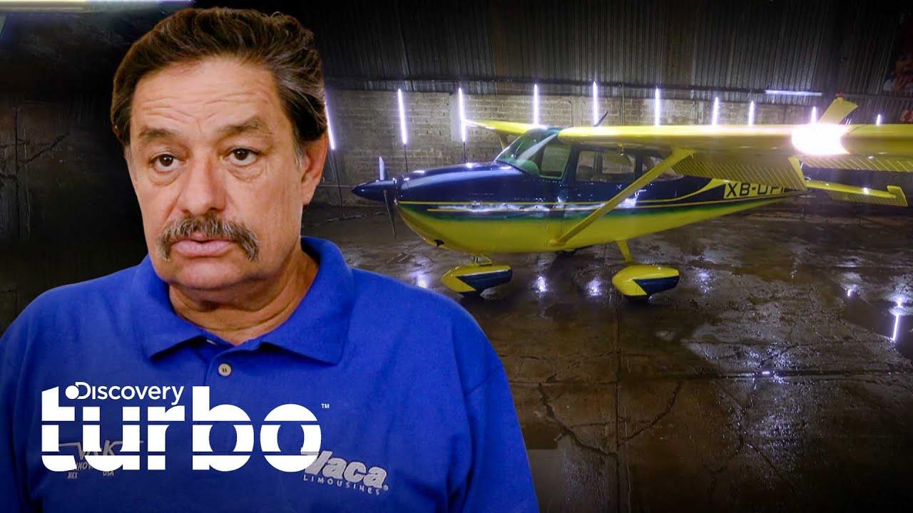 ¡Un proyecto caído del cielo!: Nueva pintura para avión Cessna 172 | Mexicánicos | Discovery Turbo