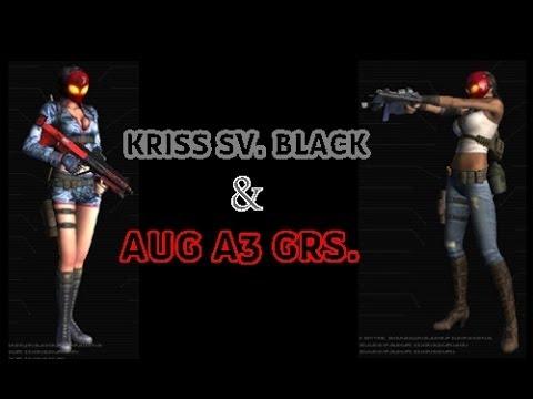 Point Blank - AUG A3 GRS & Kriss Sv. Black