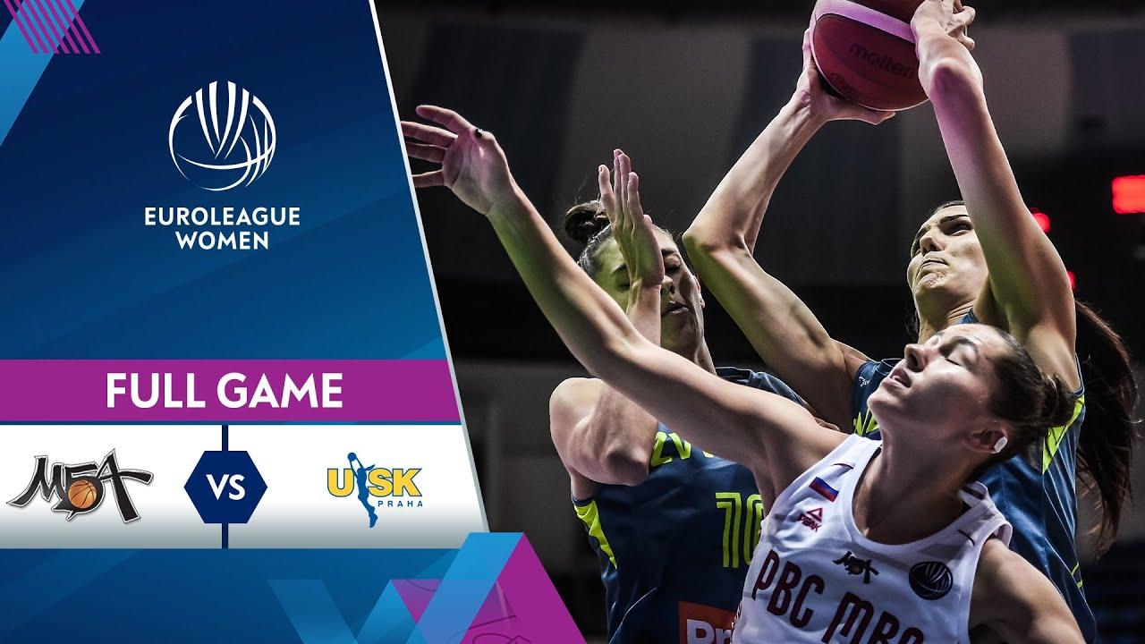 MBA Moscow v ZVVZ USK Praha | Full Game - EuroLeague Women 2021-22