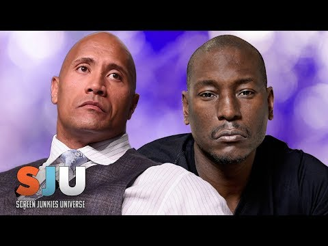 Fast Family Drama! Is The Rock Breaking Up With Tyrese!? - SJU