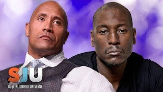 Tyrese SlamsThe Rock's Fast and Furious Spinoff  - SJU