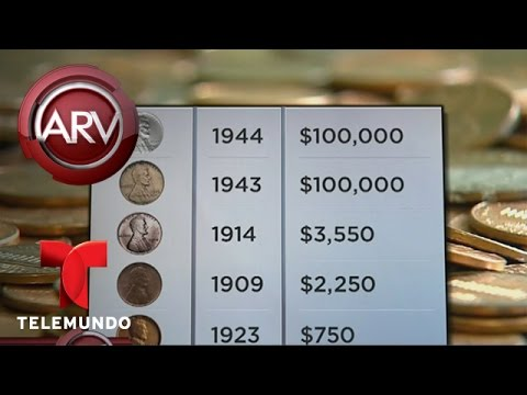 Coleccionistas Buscan Monedas De Un Centavo Que Podrían Valer Una Fortuna | Al Rojo Vivo | Telemundo
