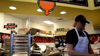 52. Жизнь в США - кафе-бистро Jimmy John's - булки с начинкой, более здоровая альтернатива Макдаку