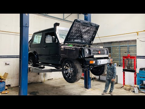 My Gypsy's First Service Done | My Gypsy's Service In Service Centre | Gypsy Service Video