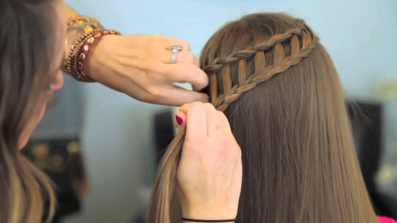 Fransız Şelale Saç Örgüsü Modeli ve Yapımı