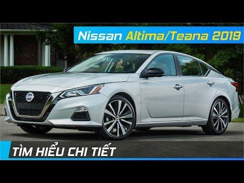 Chi tiết Nissan Altima / Teana 2019   Động cơ tân tiến & Thiết kế đẹp mắt   XE24h