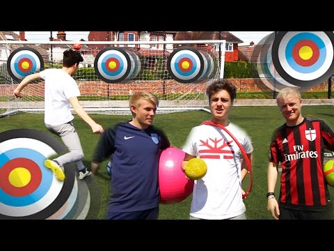 AWESOME MOVING TARGET CHALLENGE w/ THEO BAKER & CHARLIE MORLEY