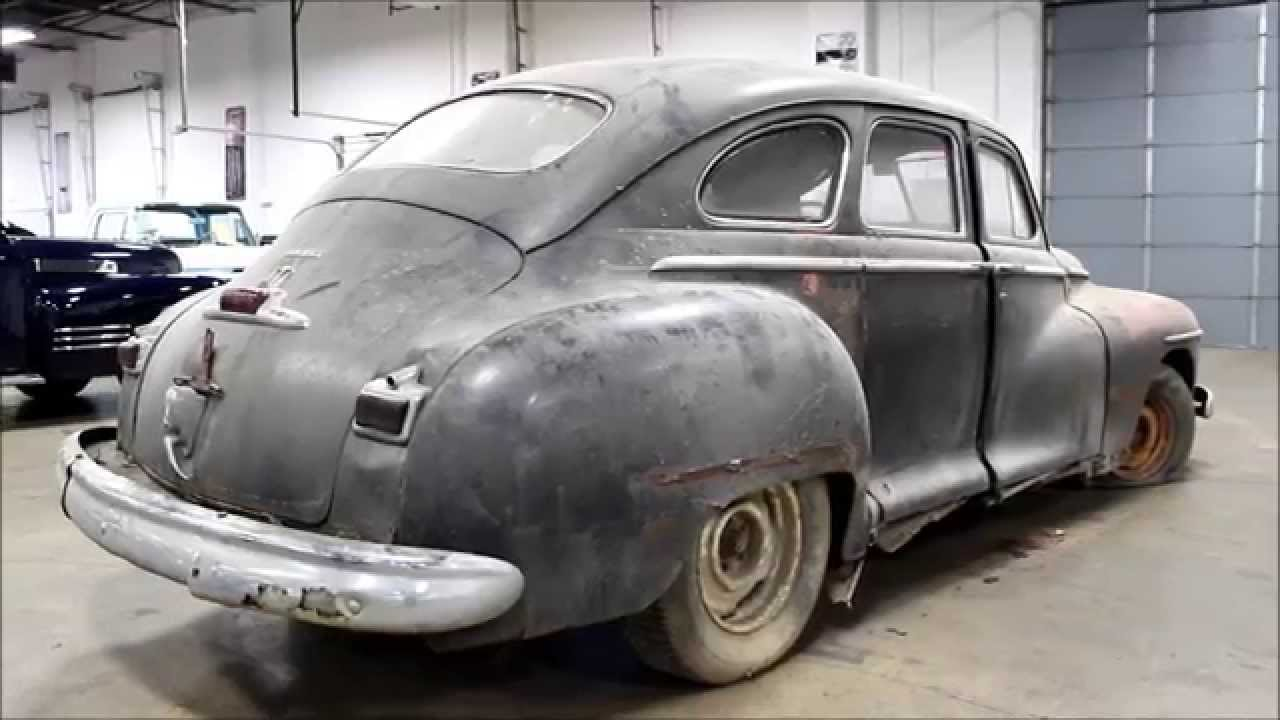 1948 Dodge Sedan Youtube