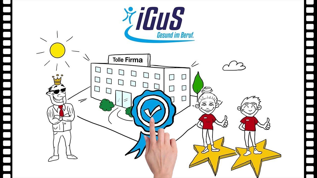 Youtube Video: Anonym, vertraulich, kompetent: Die iGuS Gesundheits-  und Sozialhotline