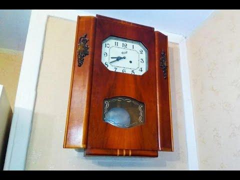 Как проще почистить настенные механические часы ОЧЗ (1960 г. в.)