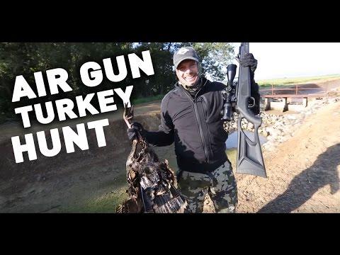 Air Gun Turkey Hunt Puts Food On the Table : Airgunner TV Rossi Morreale - PART 2