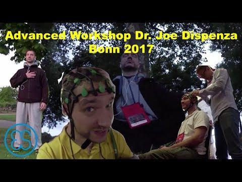 ES trifft Dr  Joe Dispenza -  Advanced Workshop Bonn 2017 behind the szenes