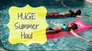 HUGE Back to School/Summer Haul 2014 ♡ Thumbnail
