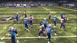 Madden 12 Franchise - Minnesota Vikings - Preseason Week 1 @ Titans [Ep.2]