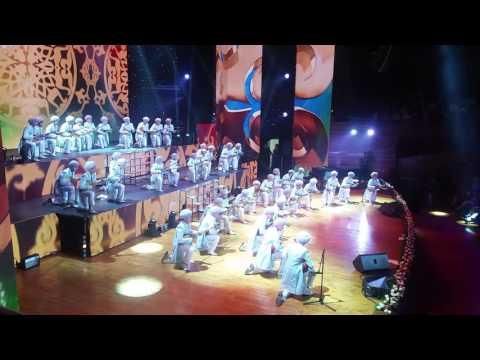 Nagyz qazaq - dombra! Amazing perfomance of Kazakh musicians on Dombyra. Eurasia Film Fest in Astana