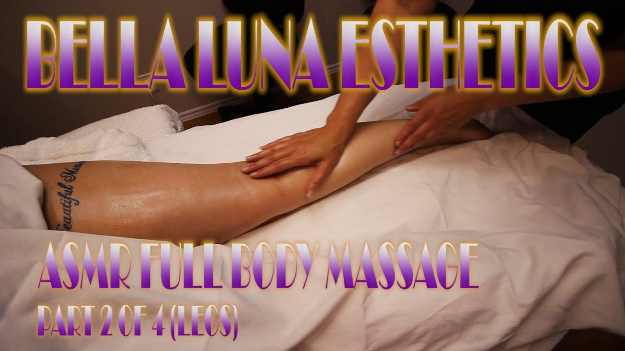 ASMR Full Body Massage - Swedish Massage Therapy ...