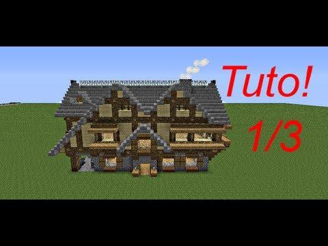 Minecraft le guide du constructeur 9 maison for Maison classique minecraft