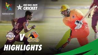 Full Highlights | Southern Punjab vs Sindh | Pakistan Cup 2021 | PCB | MA2T