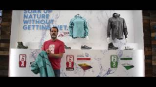 Columbia Ex Featherweight Shell with OutDry Technology at OutDoor 2017