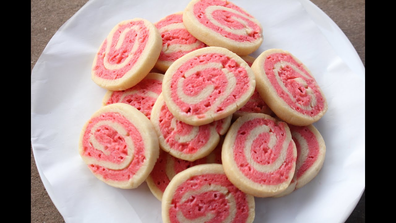 Peppermint Pinwheel Cookies Recipe Sweetco0kiepie