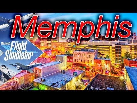 🔴4K Memphis Flight