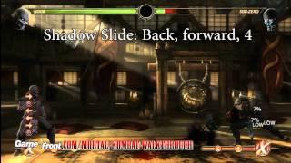 Mortal Kombat Walkthrough - Kombatant Strategy Guide - Noob Saibot