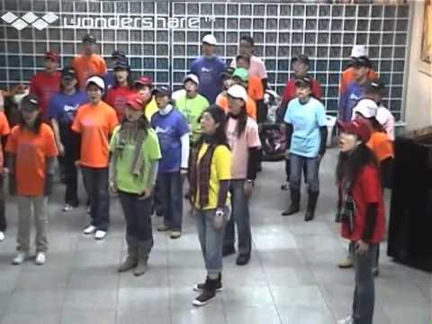 Hong Kong City Choir - Busan MTR Station