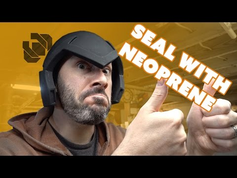 How To - Seal EVA Foam Props & Costumes with Neoprene - Creature Cast