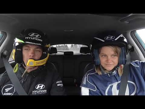 Hayden Paddon - World's first electric rally car launch