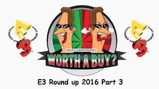 E3 2016 #3 - Possible GOTY?